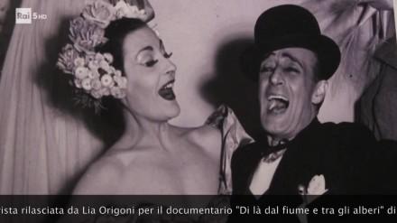"""Lia Origoni – Intervista per il documentario """"Di là dal fiume e tra gli alberi"""" di Luigi M. Perotti"""