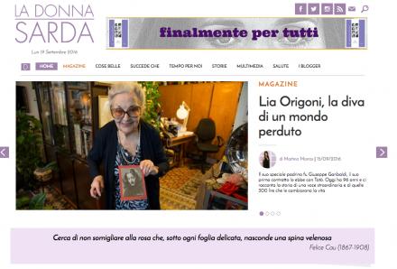 Lia Origoni, la diva di un mondo perduto