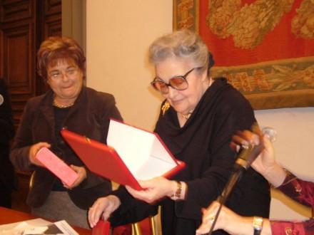 Omaggio a Lia Origoni, al Campidoglio