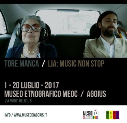 """""""Lia: Music Non Stop"""" al Museo Meoc di Aggius"""