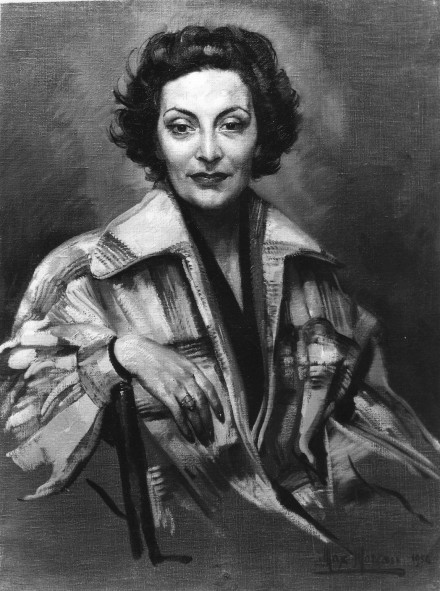 Ritratto di Lia ( Max Moreau 1954)