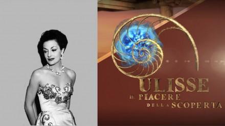 "Lia Origoni su Rai3 in ""Ulisse"" di A. Angela"