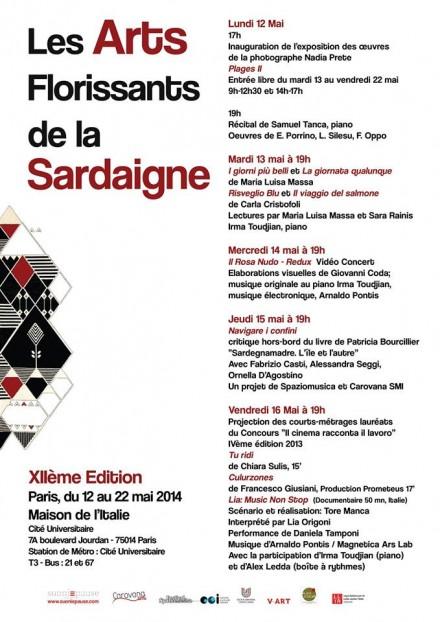 "Lia Origoni a ""Les Arts Florissants de la Sardaigne"""
