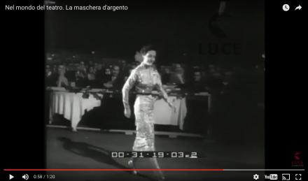 """Lia Origoni riceve il premio """"La Maschera d'Argento"""""""