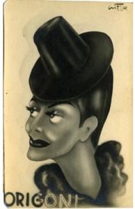 Caricatura di Lia (Gifio - 1942)