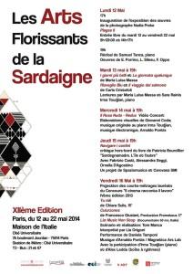 Lia Origoni a Les Arts de Florissants de la Sardaigne