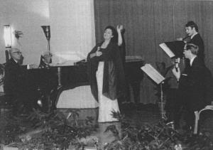 Lia Origoni, Concerto a Cogne 1964